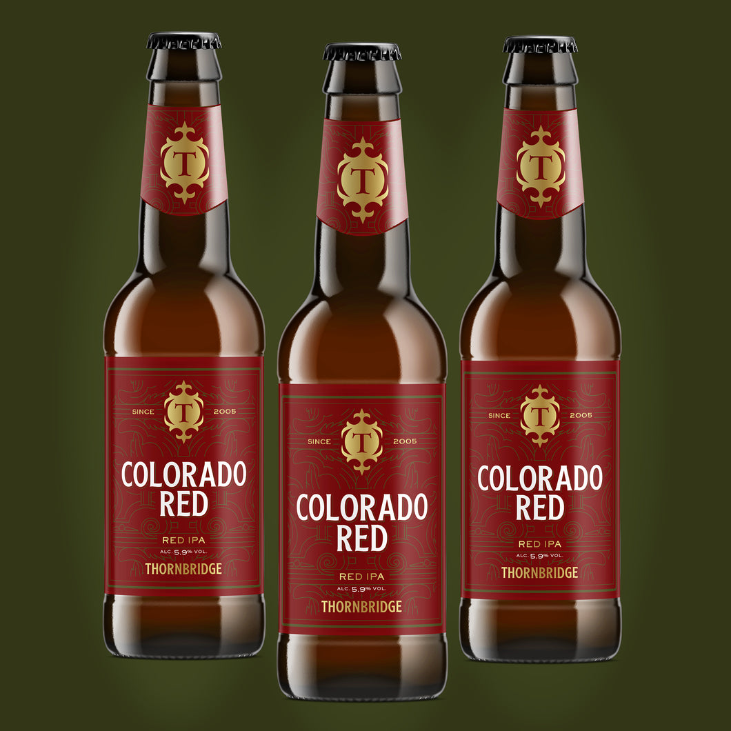 Colorado Red 5.9% Red IPA 12x330ml bottles