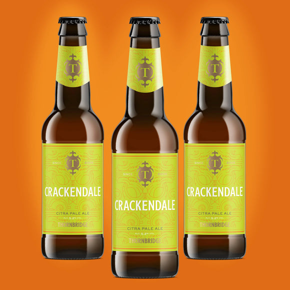 Crackendale, 5.2% Single Hopped Citra Pale Ale