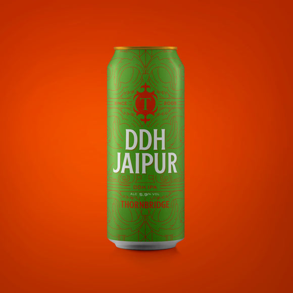 DDH Jaipur, 5.9% DDH IPA 440ml can