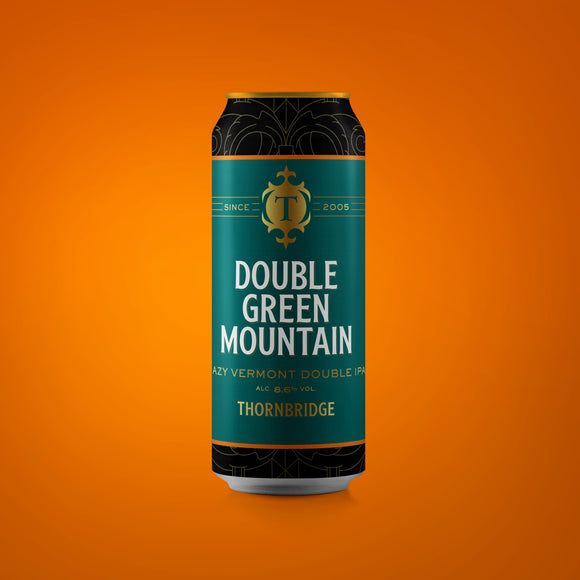 Double Green Mountain ABV 8.6% Hazy Vermont Double IPA 440ml can