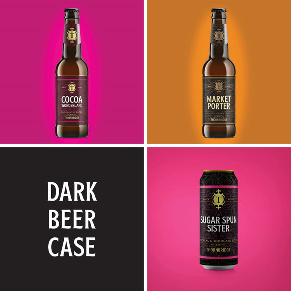 Dark Beer 12 beers Mixed Case - 8 x 330ml / 4 x 440ml
