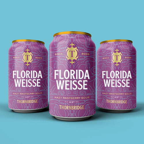 Florida Weisse 4.5% Hazy Raspberry Sour 12 x 330ml Can
