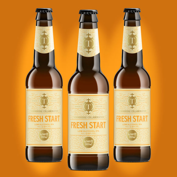 Fresh Start 0.5% Low Alcohol IPA 12 x 330ml bottles