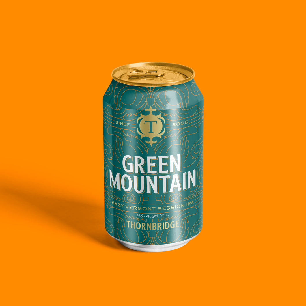 Green Mountain 4.3% Vermont Style Session IPA Can