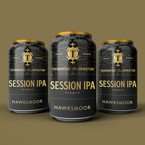 Thornbridge X Hawksmoor, 4.5%  Session IPA 12x330ml cans