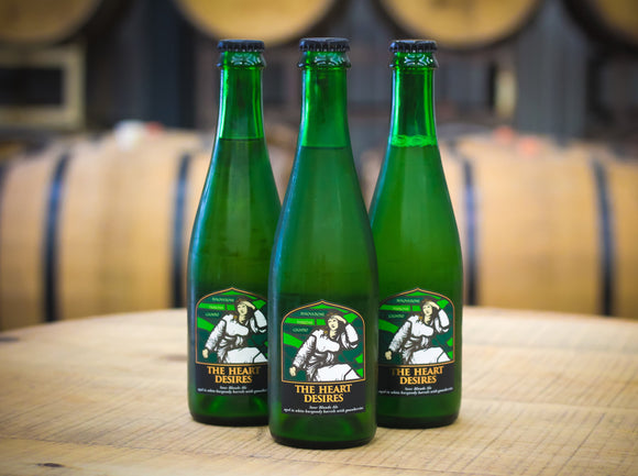 The Heart Desires 6.5% Barrel Aged Sour Blonde Ale - Case of 3x375ml