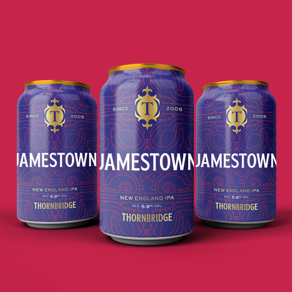 Jamestown, 5.9% New England IPA - 12 x 330ml cans