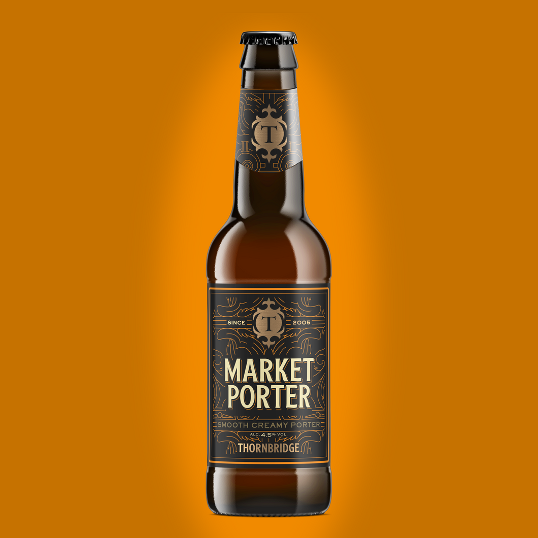 Market Porter 330ml bottle
