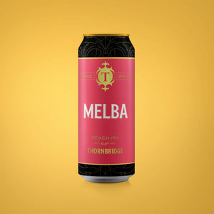 Melba 5.2% Peach IPA 440ml can