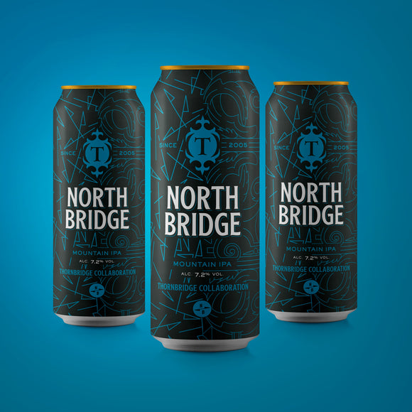 North Bridge 7.2% Mountain IPA - 12x440ml cans