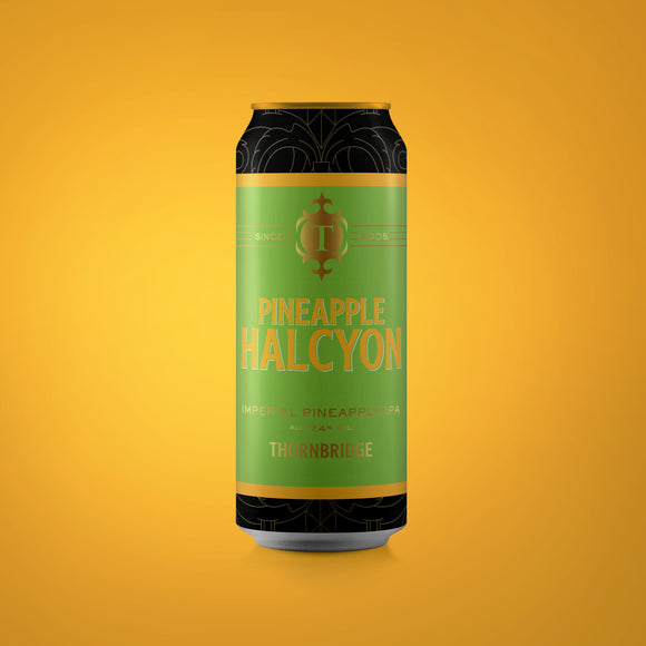 Pineapple Halcyon, 7.4% Imperial IPA