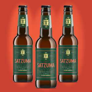 Satzuma 4.5% Gluten Free Session IPA 12 x 330ml bottles
