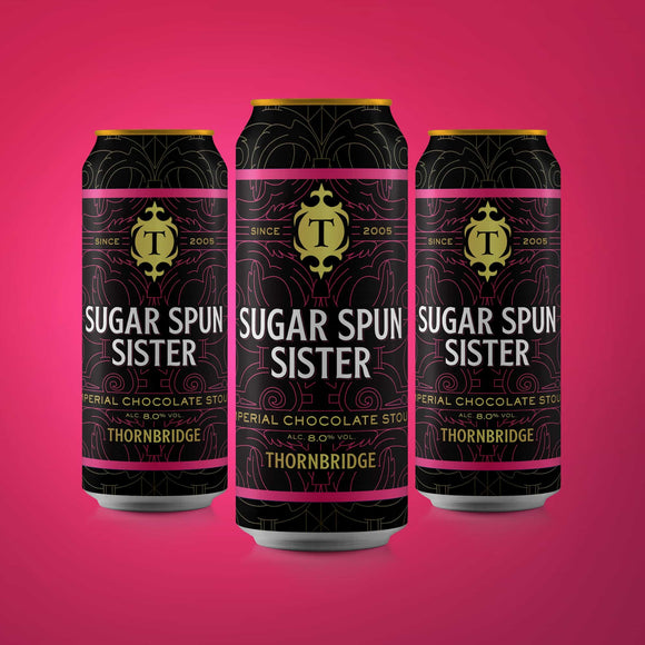 Sugar Spun Sister, 8.0% Chocolate Imperial Stout case 12x440ml cans