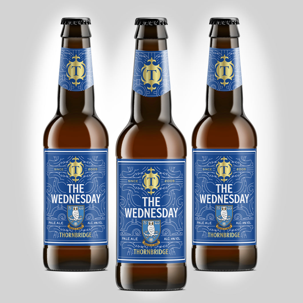 The Wednesday 4% Pale Ale 12 x 330ml bottles