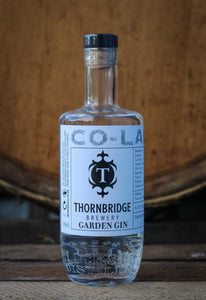 The Locksley Co-Lab: Thornbridge Garden Gin 70cl ABV 43%