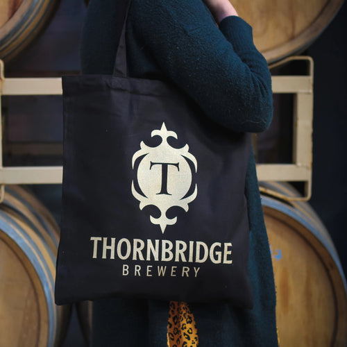 Thornbridge Black & Gold Tote Bag