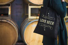 Load image into Gallery viewer, Thornbridge Black & Gold Tote Bag