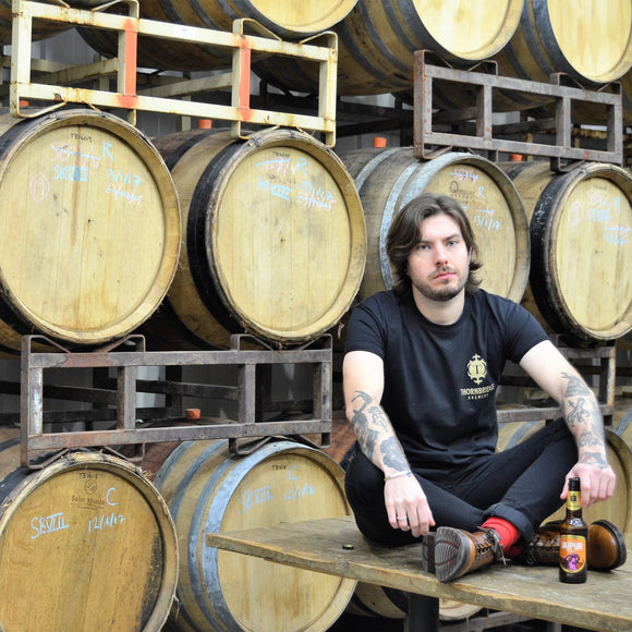 Thornbridge Black & Gold Tee