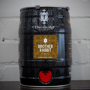 Brother Rabbit, 4% ABV Golden Ale Mini Cask 5 Litre