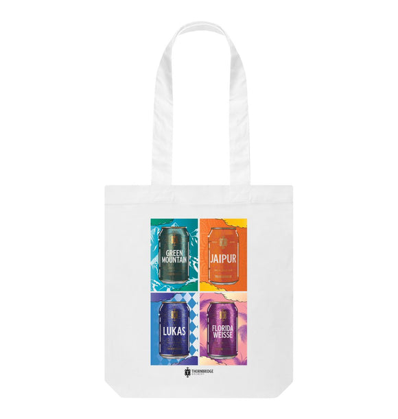 White Thorbridge Tate Tote