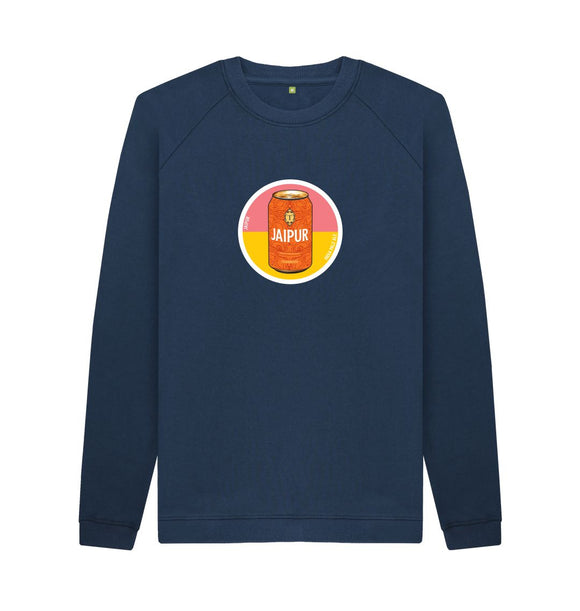 Navy Blue Jaipur circle sweat