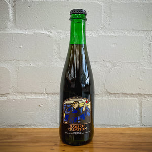 Days Of Creation, 7% Barrel Aged Sour with Raspberries 375ml bottle