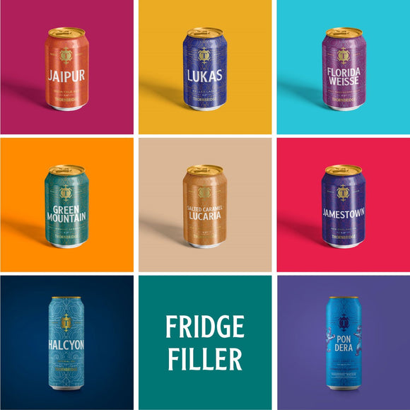 Fridge Filler Case - 20 cans January 2021 Edition - 16x330ml cans / 4x440ml cans