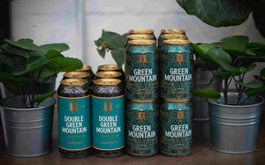 Green Mountain 18 Beer Mega Pack : 12x330ml GM 4.3% ABV, 6x440ml Double GM 8.6% ABV