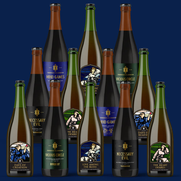 Ultimate Barrel Aged selection pack - Case of 12x375ml bottles