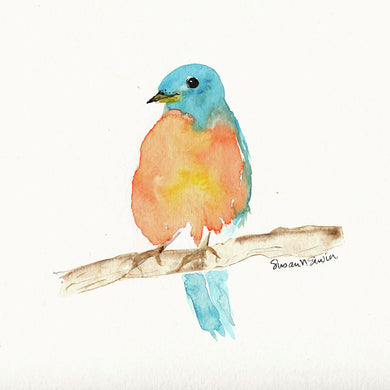 Bluebird (Giclee) by Susan Erwin Prowse