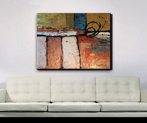 Original Abstract Acrylic on Canvas