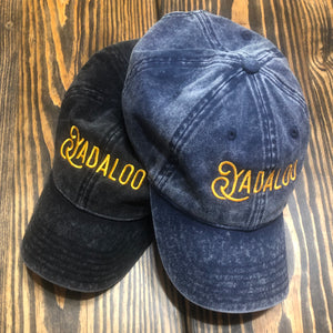 Yadaloo Vintage Cap (Black or Navy)
