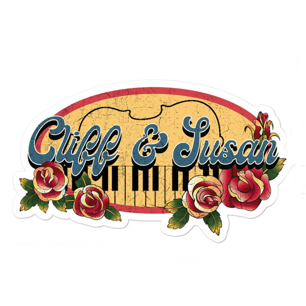Cliff & Susan Stickers