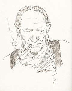 Willie Nelson (Giclee) by Susan Erwin Prowse
