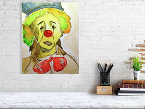 Sad Clown (Giclee) by Susan Erwin Prowse