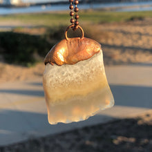 Agate with Copper / Copper Necklace
