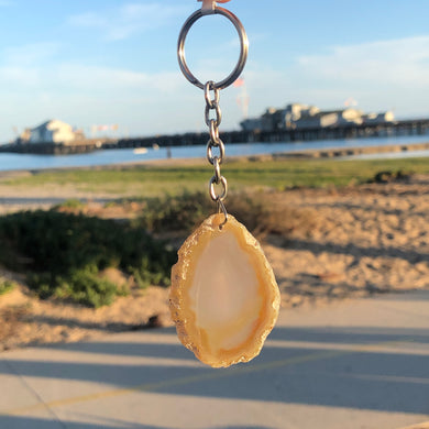 Agate Keychains (5 styles)