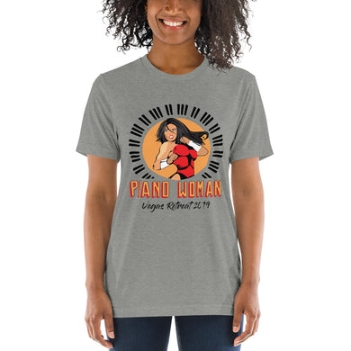 Piano Woman Vegas Retreat Triblend T