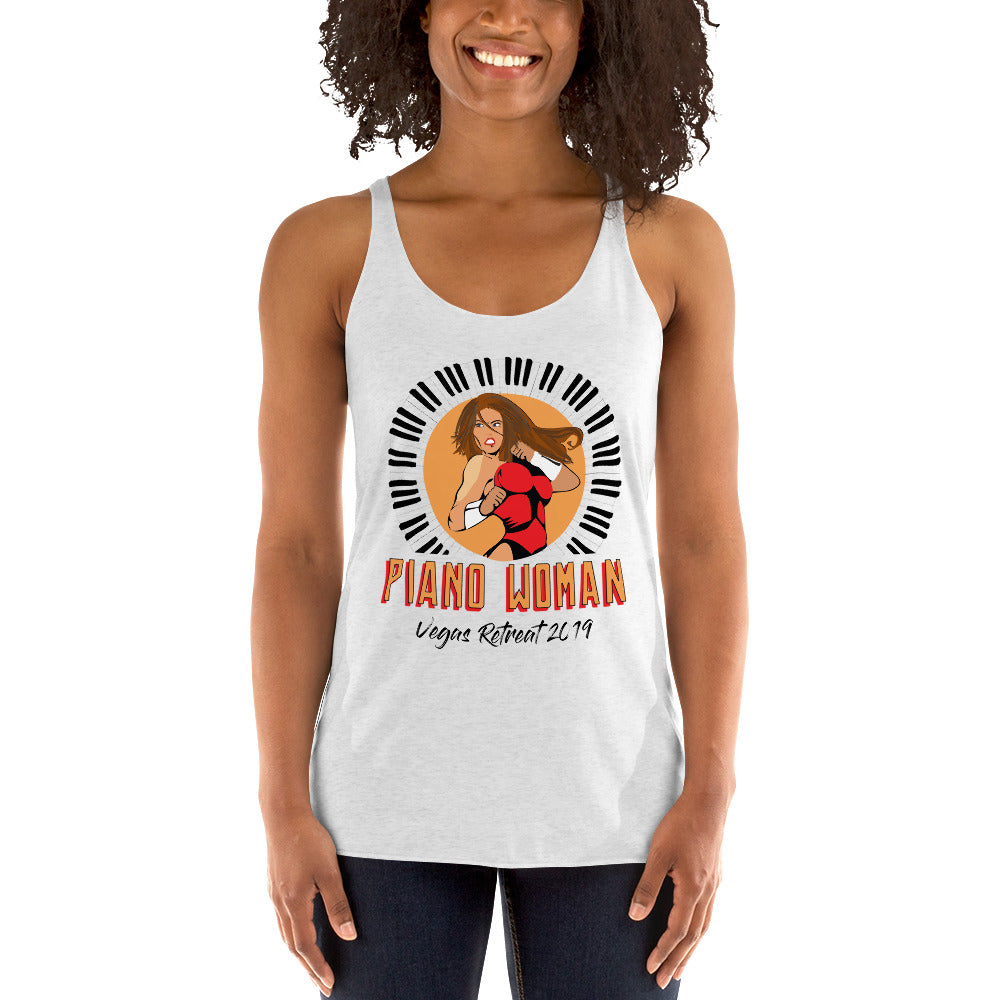 Women's RED HAIR Racerback Tank