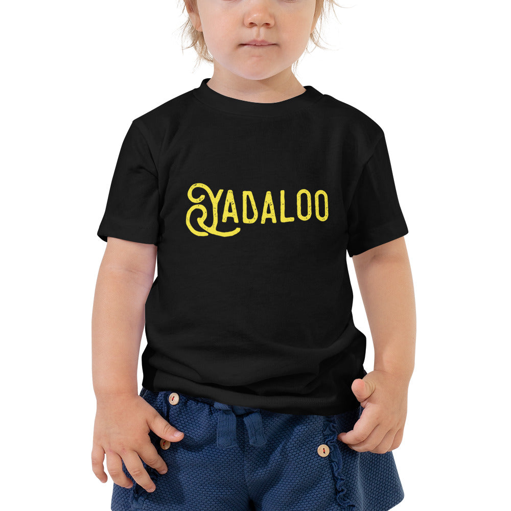 Yadaloo Toddler Short Sleeve Tee