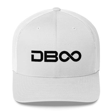 DB∞ Trucker Cap (WHITE)