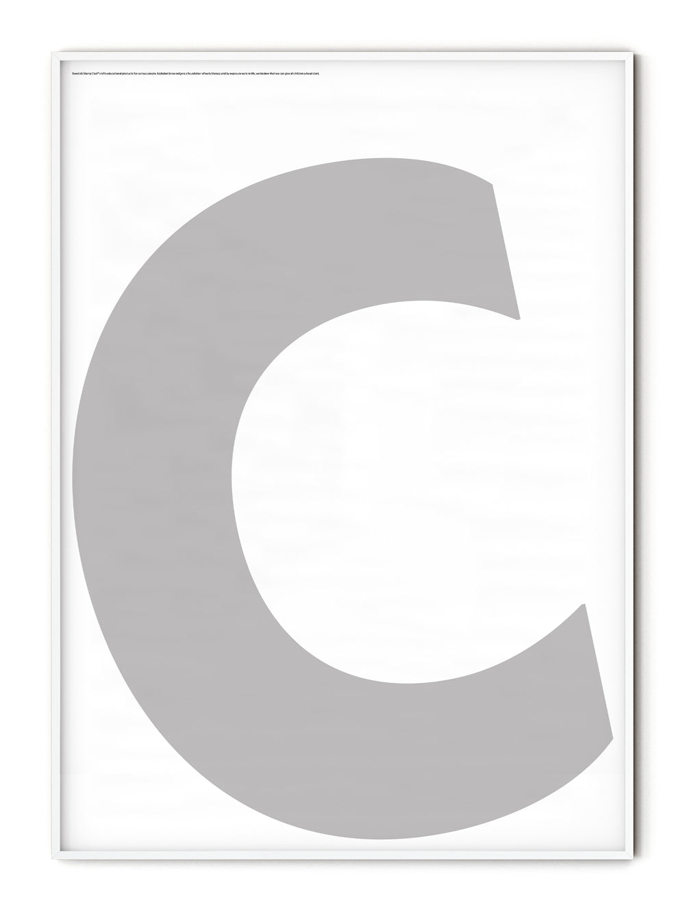 Letters C Poster