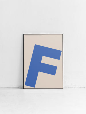 Letters F Poster