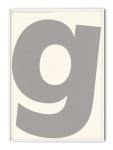 Letters G Poster