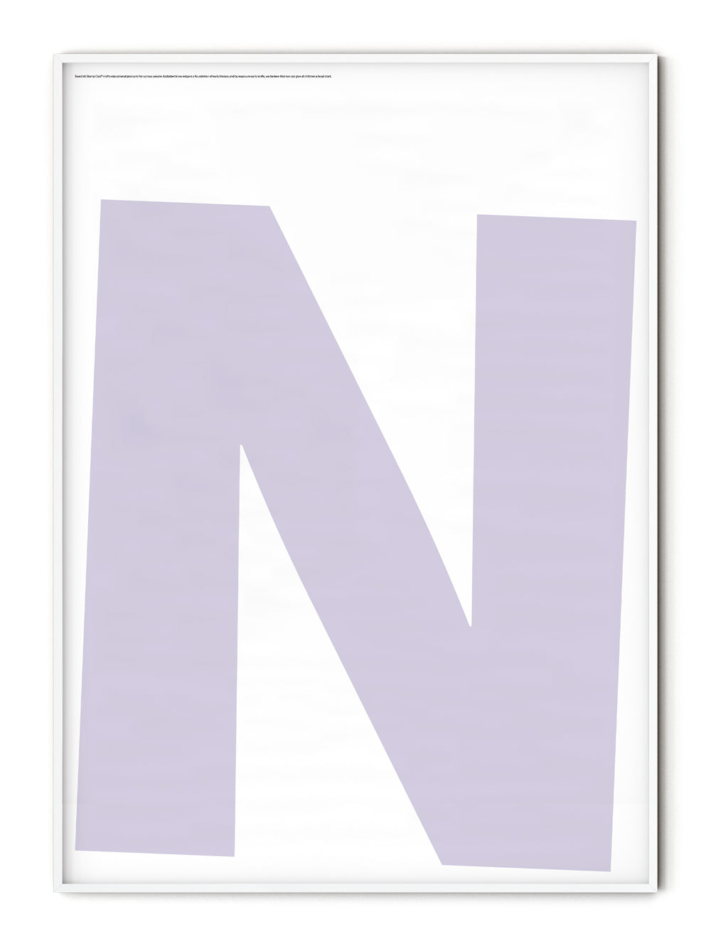 Letters N Poster