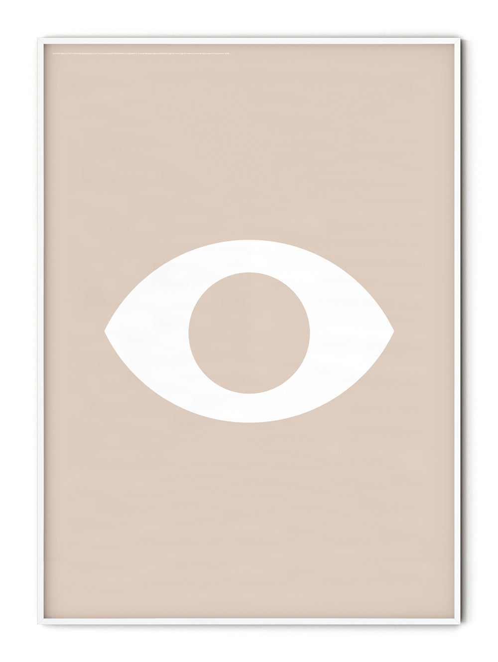 Iconography Eye Poster