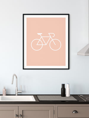 Iconography Bicycle Poster
