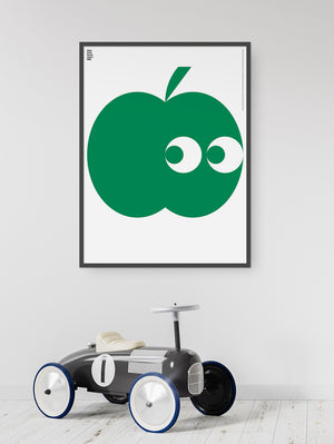 Translated Green Poster (Apple)