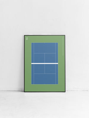 Sport Tennis Court US Open Poster