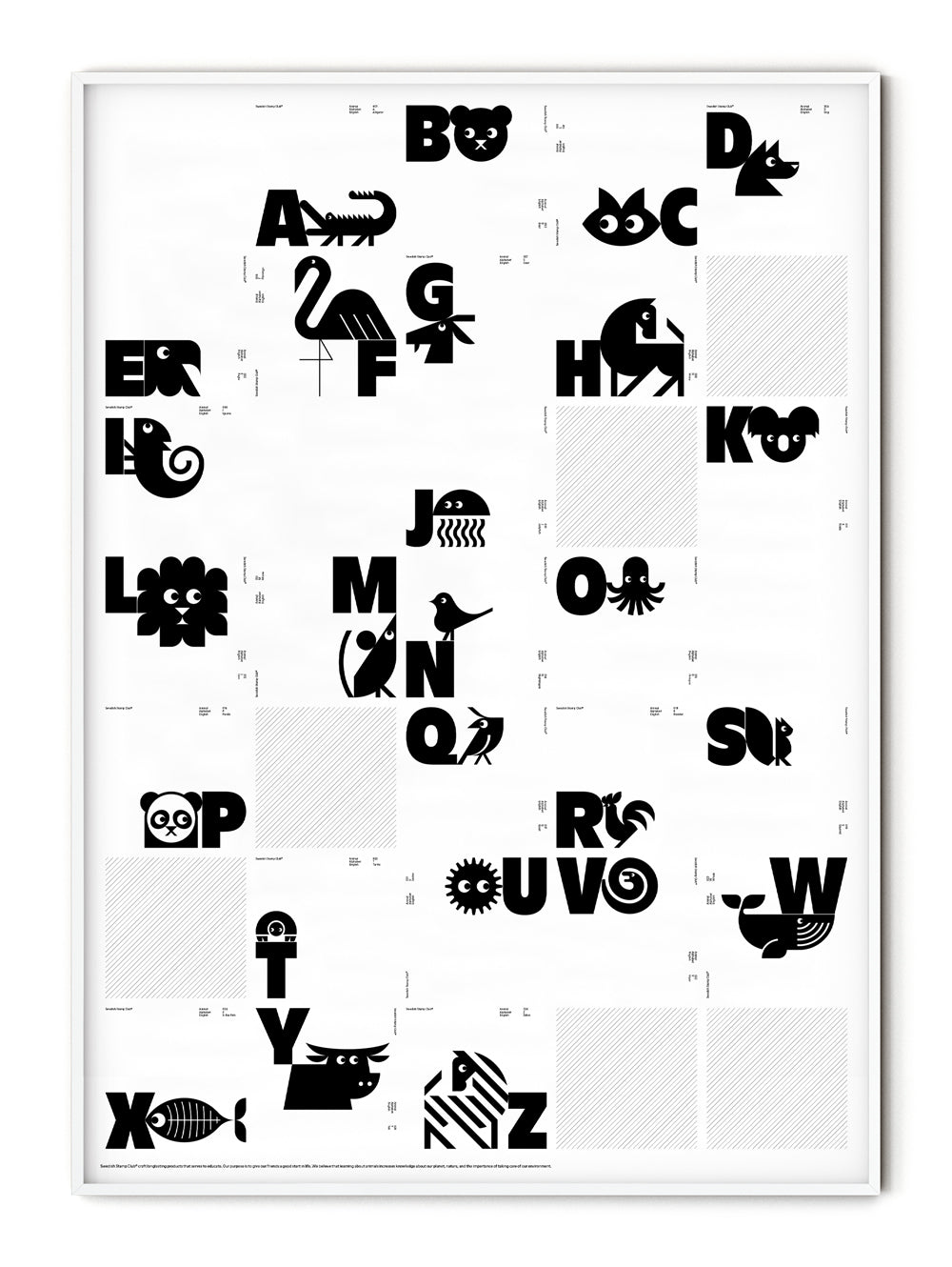 26 Days of Animals Poster